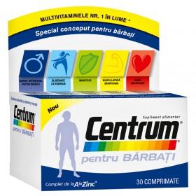 CENTRUM PENTRU BARBATI X 30 COMPRIMATE