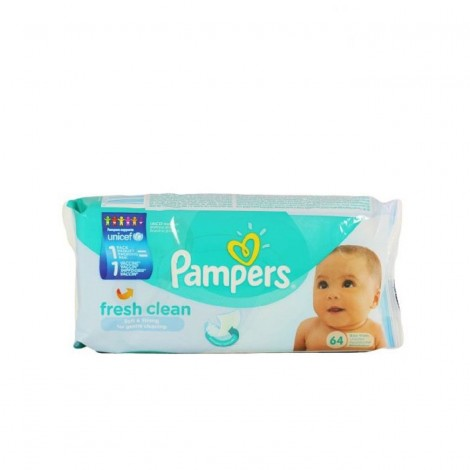 PAMPERS SERVETELE BABY FRESH CLEAN X 64BUC   (A0X013293)