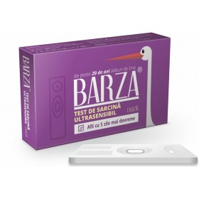 BARZA TEST DE SARCINA ULTRA SENSIBIL - CASETA
