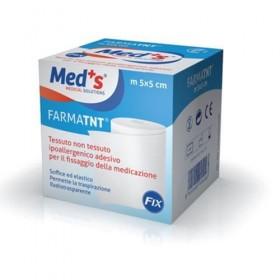 PLASTURE DIN MATERIAL NETESUT ELASTIC FARMATNT  5CMX5M  MED