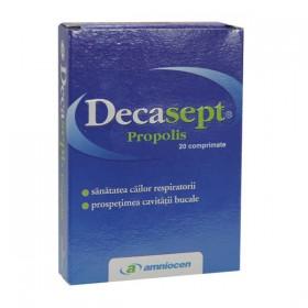 DECASEPT CU PROPOLIS 20 COMPRIMATE