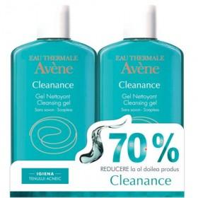 AVENE CLEANANCE GEL 200MLX2 70% PK