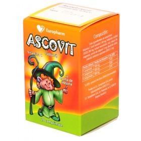 Ascovit 100 mg capsuni x 20 cpr.