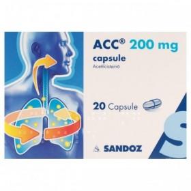 ACC 200 mg CAPSULE x 20