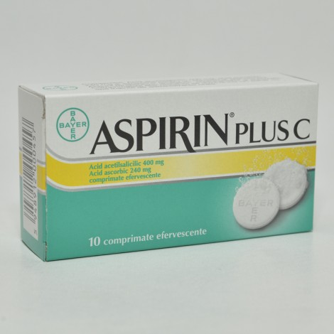 ASPIRIN PLUS C x 10