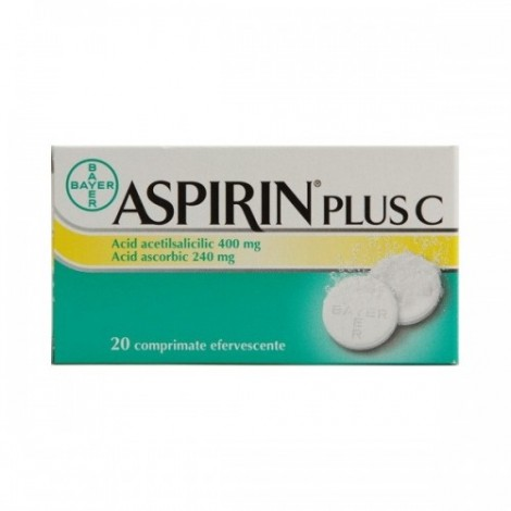 ASPIRIN PLUS C x 20
