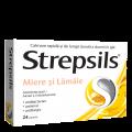 STREPSILS  MIERE SI LAMÂIE x 24
