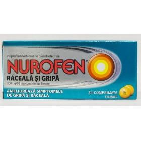 NUROFEN RACEALA SI GRIPA 200 mg/30 mg x 24