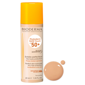 BIODERMA PHOTODERM NUDE TOUCH CLAIR CULOARE DESCHISA SPF 50+ 40 ML