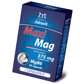 ZDROVIT MAXIMAG 375MG 30 CAPSULE