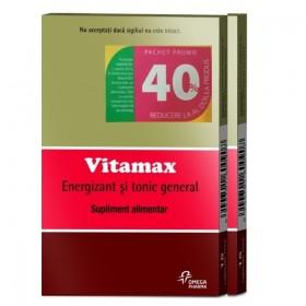 VITAMAX X 15 CAPSULE MOI 1+1-40% REDUCERE