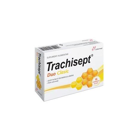 TRACHISEPT DUO CLASIC X 16 COMPRIMATE