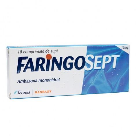 FARINGOSEPT 10 mg x 10