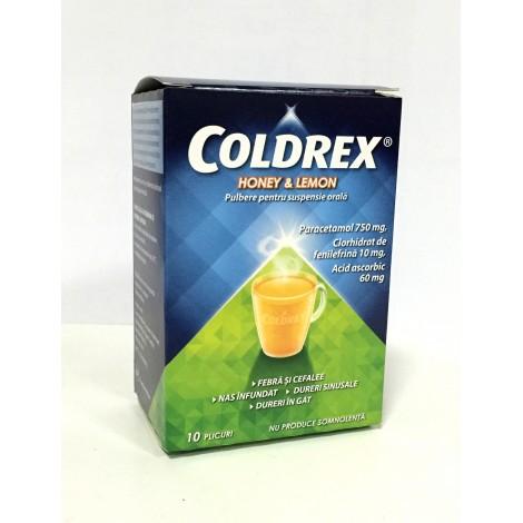 COLDREX HONEY   LEMON x 10