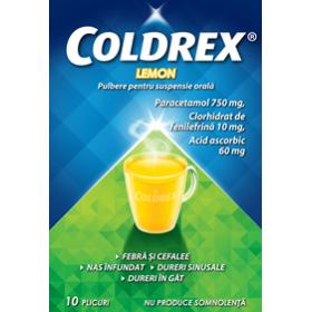 COLDREX LEMON x 10