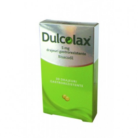 DULCOLAX 5 mg x 30