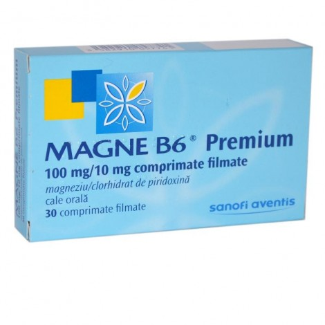 MAGNE B6 PREMIUM 100mg/10mg x 30
