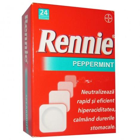 RENNIE  R  PEPPERMINT x 24