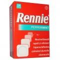 RENNIE  R  PEPPERMINT 680 mg/80 mg x 24