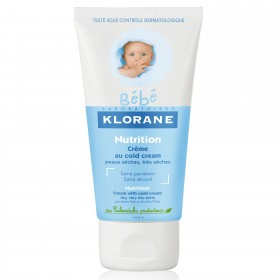 KLORANE BEBE CREMA NUTRITIVA COLD CREAM 40ML
