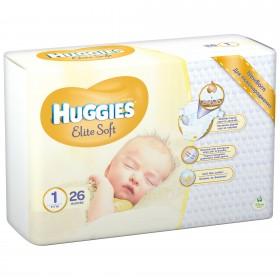 HUGGIES ELITE SOFT NR 1 (2-5 KG) 26 BUCATI
