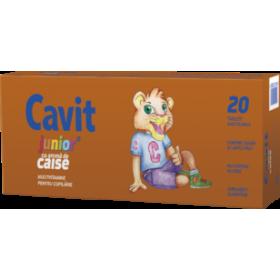 CAVIT JUNIOR CAISE 20 TABLETE MASTICABILE  BIOFARM
