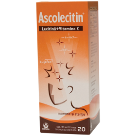 ASCOLECITINA X 20 TABLETE BIOFARM