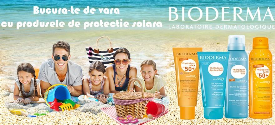Bucura-te de vara cu produsele de protectie solara